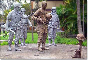 25th Infantry Division Memorial in Hawaii